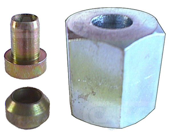 080055 - Inj. Pipe Nut Set