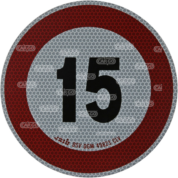 171898 - Max Speedsign 15 km