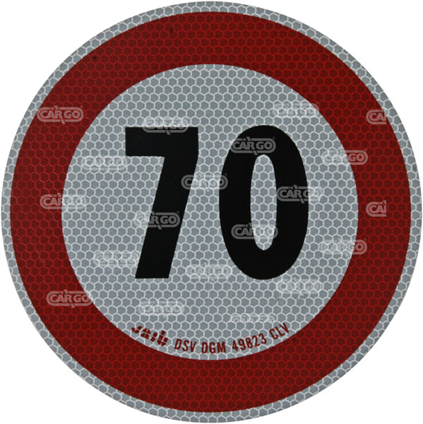 171901 - Max Speedsign 70 km