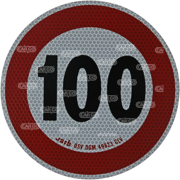 171903 - Max Speedsign 100 km