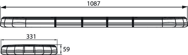 171909 - LED Light bar